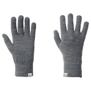 Jack Wolfskin Men's Rib Gloves - Grey Heather