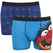 The Muppets Animal Men's 2 Pack Boxers - Blue