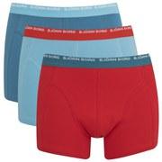 Bjorn Borg Men's Triple Pack Boxer Shorts - Faience