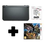 New Nintendo 3DS XL Metallic Black + Monster Hunter 4 Ultimate