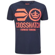 Crosshatch Men's Algol T-Shirt - Iris Navy