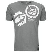 Crosshatch Men's Draco T-Shirt - Smoked Pearl