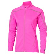 Asics Women's Lite Show Winter Running Jacket - Pink Glow