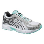 Asics Women's Patriot 7 Running Shoes - White/Vanilla Ice/Aqua Splash