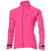 Asics Women's Hybrid Running Jacket - Pink Glow