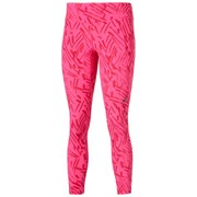 Asics Women's Graphic 7/8 Running Tights - Pink Glow Palm