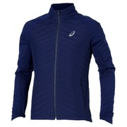 Asics Men's Hybrid Running Jacket - Indigo Blue