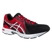 Asics Men's Gel Impression 8 Running Shoes - Black/White/Fiery Red
