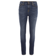 Nudie Jeans Women's Pipe Led Denim Jeans - Navy Night