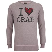 Vivienne Westwood Anglomania Men's 'I Love Crap' Sweatshirt - Pink