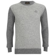 Vivienne Westwood Anglomania Men's Classic Round Neck Knitted Jumper - Grey