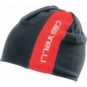 Castelli Reversible 2 Beanie - Red/Grey