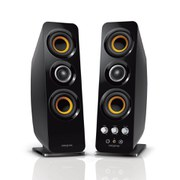 Creative T50 Wireless, Bluetooth and NFC 2.0 PC Speakers - Black