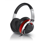 Creative Aurvana Live!2 Headphones with In-Line Mic - Black/Red