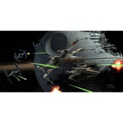 Star Wars Tie Fighter Vs X-Wing Glass Poster