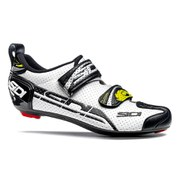 Sidi T4 Air Carbon Composite Cycling Shoes - White/Black