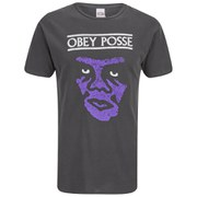 OBEY Clothing Men's Nasty Icon T-Shirt - Dusty Black