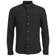 HUGO Men's Elden Long Sleeve Shirt - Black/Multi
