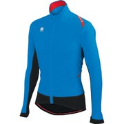 Sportful Fiandre Light Wind Jersey - Electric Blue/Black