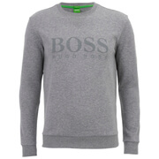 BOSS Green Men's Salbo Sweatshirt - Grey