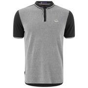 Le Shark Men's Birdseye Tipped Pique Polo Shirt - Black