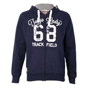Tokyo Laundry Men's Zip Through Hoody - Navy