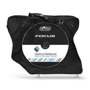 Scicon AeroComfort 2.0 TSA Bike Bag Padlock and External Lateral Shields - Black - AG2R La Monduale Team Edition