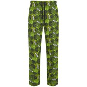 Marvel Men's Hulk All Over Print Lounge Pants - Green