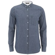 NEUW Men's Bob Long Sleeve Shirt - Blue