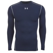 Under Armour Men's ColdGear Compression Crew Top - Midnight Navy