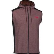 Under Armour Men's ColdGear Infrared Performance Fleece Vest Top - Deep Red/Black