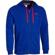 Under Armour Men's Storm Rival Full Zip Hoody - Carbon Heather