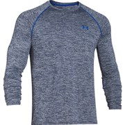 Under Armour Men's Tech Patterned Long Sleeve Top - Blue