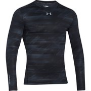 Under Armour Men's ColdGear Compression Long Sleeve Top - Black