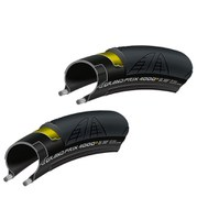 Continental Grand Prix 4000S II Clincher Tyre Twin Pack - Black - 25mm