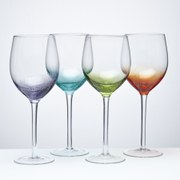Anton Studio Designs Set of Four Fizz Wine Glasses