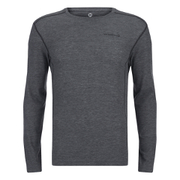 Merrell Geom Long Sleeve T-Shirt - Granite Heather/Black