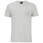 Rip Curl Men's Zinc Pocket T-Shirt - Off White Marl