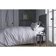 Bianca Spot Oxford Pillowcases (Set of Two) - Grey