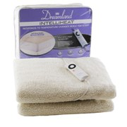 Dreamland 16211 Intelliheat Soft Fleece Electric Under Blanket - Single