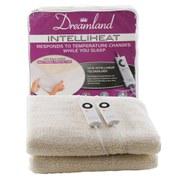 Dreamland 6967 Intelliheat Premium Soft Fleece Dual Control Electric Mattress Cover - Double