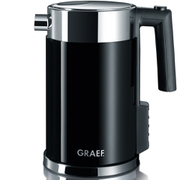 Graef WK702 1.5L Kettle - Multi Temperature Settings and Child Lock - Black