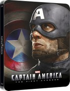 Captain America: The First Avenger 3D (Includes 2D Version) - Zavvi Exclusive Lenticular Edition Steelbook