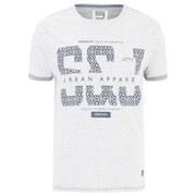 Smith & Jones Men's Parnholt Print T-Shirt - Vaporous Grey