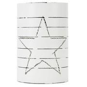 Nkuku Star Can Lantern - Large (18 x 12.5cm)