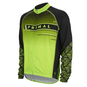 Primal Cantor Long Sleeve Jersey - Green