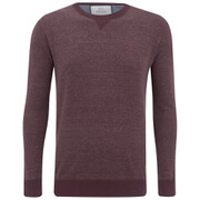 Crosshatch Men's Backsands Crew Neck Knitted Jumper - Andorra