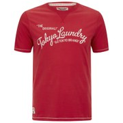 Tokyo Laundry Men's Norman Printed T-Shirt - Tokyo Red