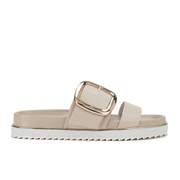 Senso Women's Kada Leather Double Strap Sandals - Nude