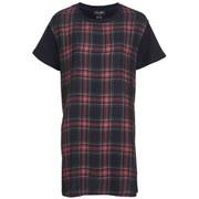 The Fifth Women's Building Blocks T-Shirt Dress - Tartan
